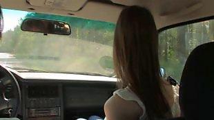 Сек машины, В автомобиле