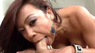 Deep throat, Swallow, Cum swallow, Asian blowjob, Asian, Throat cum