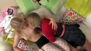 Very young, Teen lesbian anal