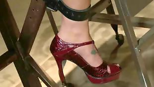 Bondage, High heels, Rough, James deen