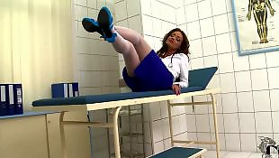 Nylons, Doctor, Ddf network, Legs solo, Pantyhose solo, Pantyhose