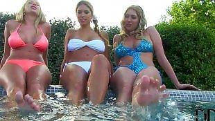 Busty lesbians, Lesbian pool, Lesbian bikini, Ddf lesbian, Ddf busty, Ddf network