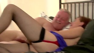 Mature fuck, British, Milf stockings, British milf, Mature, Stockings