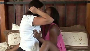 Lesbian interracial, Interracial lesbian, Melissa monet, Lesbians kissing, Lesbian kiss, Melissa