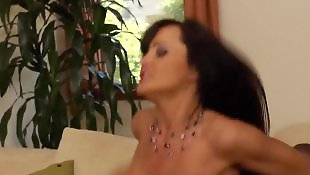 High heels, Lisa ann, Milf stockings, Ann, Mature heels, Cum on ass