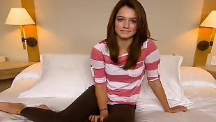 Teen, Babes, First, Cute, Brunette, Teens