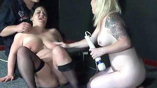 Lesbian dildo, Chubby lesbian, Chubby lesbians, Vibrator
