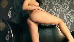 Striptease, Hairy brunette, Hairy striptease, Beautiful, Beauty, Russian