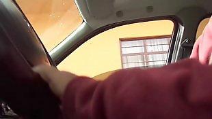 Flashing, Public, Flash, Car, Nudist