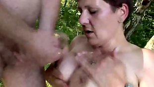 Couple, Outdoor, Mature couple, Mature outdoor, Mature, Granny