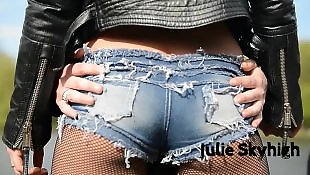 Boots, Teen lesbian, Outdoor, Tease, Lesbian teens, Lesbian boots