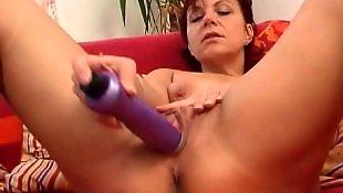 Milf dildo, Big pussy, Meaty pussy, Mature masturbation, Mom, Mature