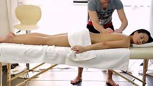 Massage, Russian teen, Russian, Russian teens, Massage teen