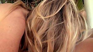 Блондинка показывает попку, Анал с раздеванием