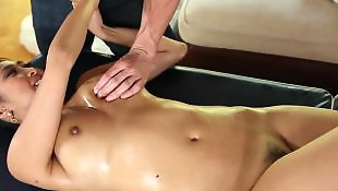 Cock massage, Sharon lee, Massage, Pussy massage, Oil
