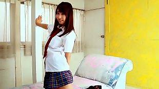 Skirt, Softcore, Asian, Tease, Beautiful, Asian teen