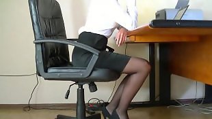 Secretary, Webcam, Hidden, Hidden camera, Film