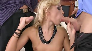 Ivana sugar, Teen threesome, Cum eating