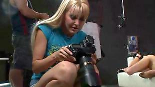 Backstage, Teen lesbian, Sophie moone