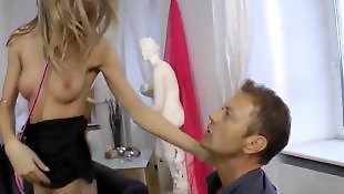 Rocco siffredi, High heels, Stockings anal, Rocco, Ass finger, High heels anal