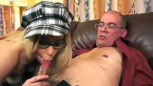 Old man, Mature blowjob, Mature, Grandpa, Mature cum