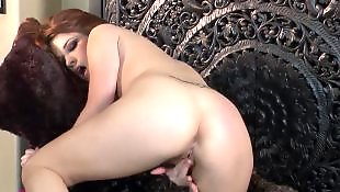 Ass masturbation, Red hair