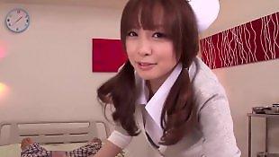 Japanese, Japanese handjob, Nurse handjob, Nurse