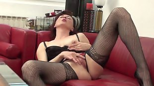 Granny masturbating, Mature masturbation, Stockings masturbating, Mature amateur, Dirty, Granny