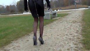 Leather, Walking, Walk