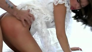 Lingerie, White lingerie, White