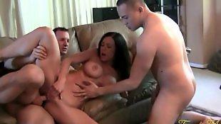 Threesome, Threesomes, Pornstars, Kendra, Worship, Brunette