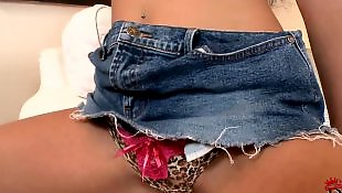 Solo girls, Jeans, Solo orgasm, Skirt, Panties, Teen solo