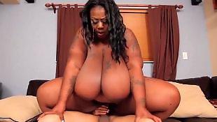 Ebony bbw, Big tits, Tit fuck, Ebony big tits, Ebony milf, Amazing