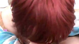 Teen pov, Redhead pov, Teen big cock