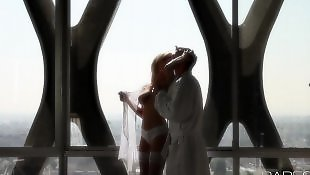 Wife, Strip, Busty blowjob, Stripping