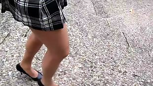 Walking, French, Upskirts, Upskirt, Voyeur