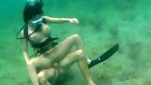 Voyeur, Underwater, Mature, Mature cumshot, Mature couple, Couple