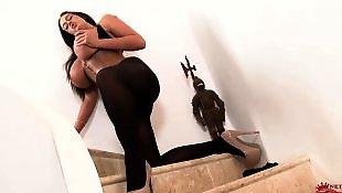 Big tits solo, Pantyhose, Solo lingerie, Pantyhose solo, Emma butt, Legs solo
