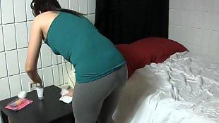Cleaning, Cute, Handjob cum, Handjobs, Handjob babe, Lady