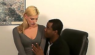 Milf interracial, Mature interracial, Mature, Secretary