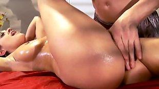 Oil, Massage, Beautiful, Ass massage, Oil massage, Oiled ass