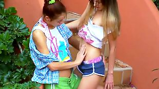 Russian lesbian, Russian teen