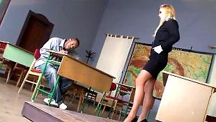 Nauczycielka z nauczycielką