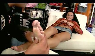 Feet lick, Toes, Toe sucking, Long toes