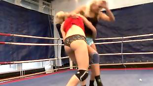 Sport, Femdom, Wrestling