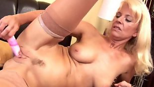 Mature masturbation, Dildo mature, Granny dildo, Stockings dildo, Stocking dildo, Milf stockings