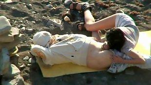 Beach, Beach voyeur, Couple, Voyeur beach