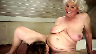 Granny lesbian, Old and young, Granny norma, Granny, Old and young lesbian, Lesbian shower