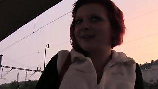Redhead, Redhead pov, Train