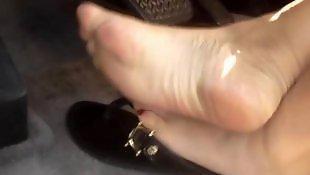 Feet, Asian feet, Asian, Pump, Pretty
